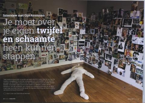 'Je moet over je eigen twijfel en schaamte heen kunnen stappen  (Interview met Gijs Assmann)' door Lizan van Dijk en Ruud Vermeer